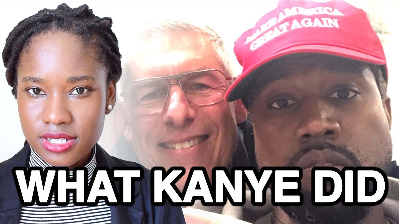Thank You Kanye, Very Cool WHAT KANYE DID Trump Tweet - Just Thinking Out Loud