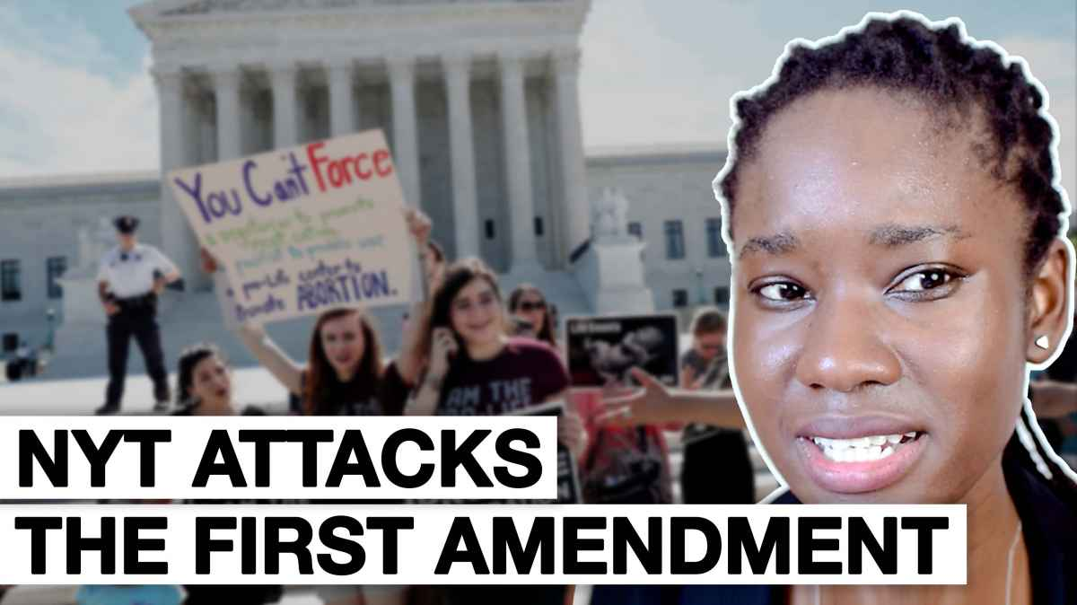 First Amendment Cases Conservatives Re NYT Article