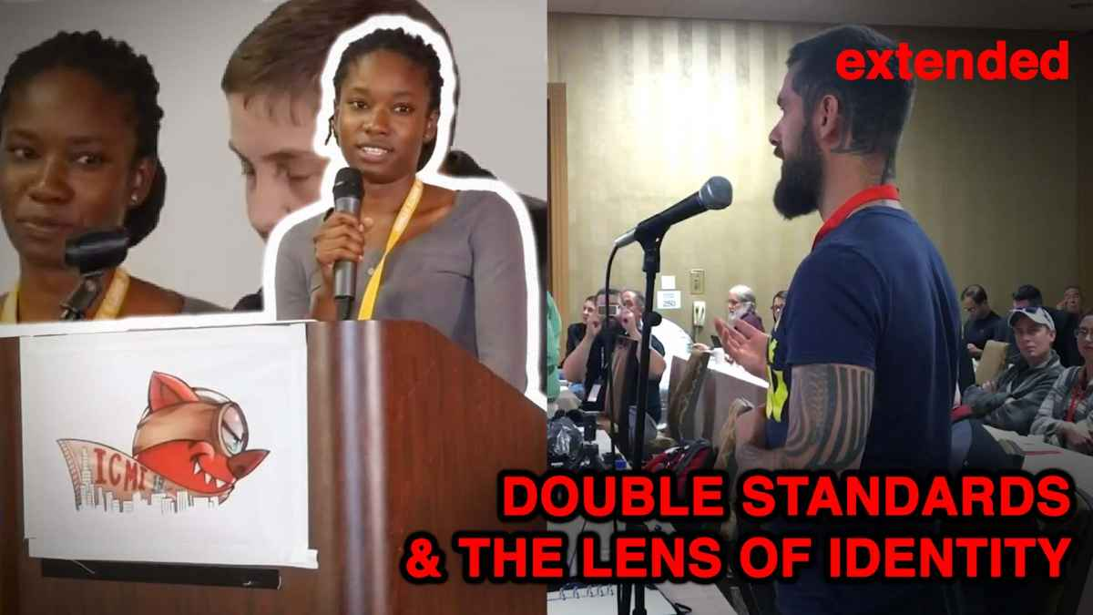 Double Standards and The Lens of Identity Politics - International Conference on Men's Issues Speech